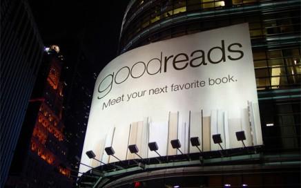 Goodreads Billboard