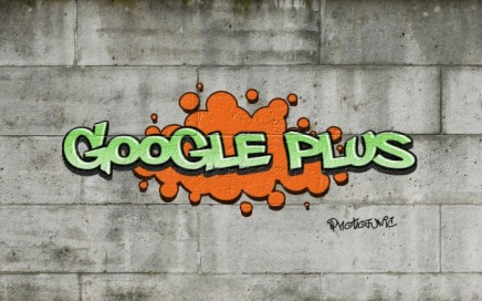 Google Plus Graffiti