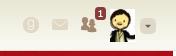 Goodreads Friend button