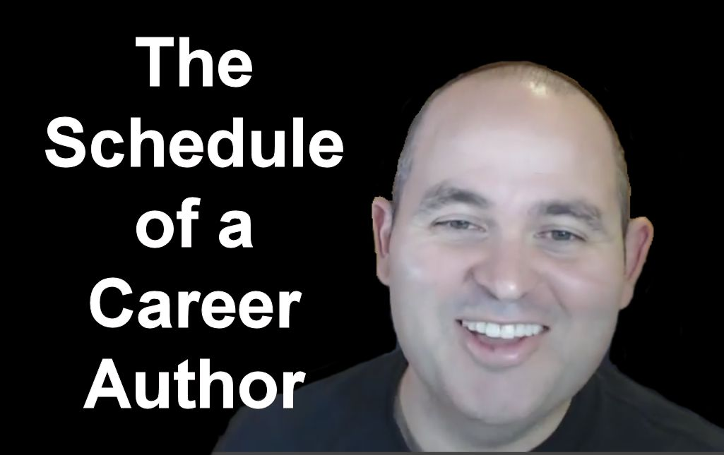 The Schedule of a CAreer Author